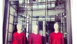 Floransa'da moda vitrinleri!
