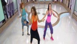 Eğlenerek kilo verdiren dans Zumba rüzgarı