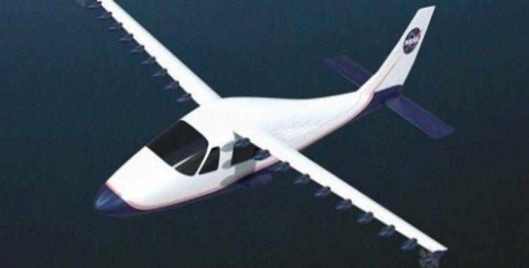 NASA, elektrikli uçağını uçurdu
