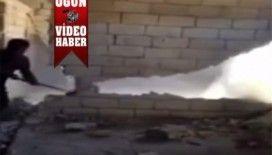 'Duvarı yıkayım' derken canından oluyordu video izle