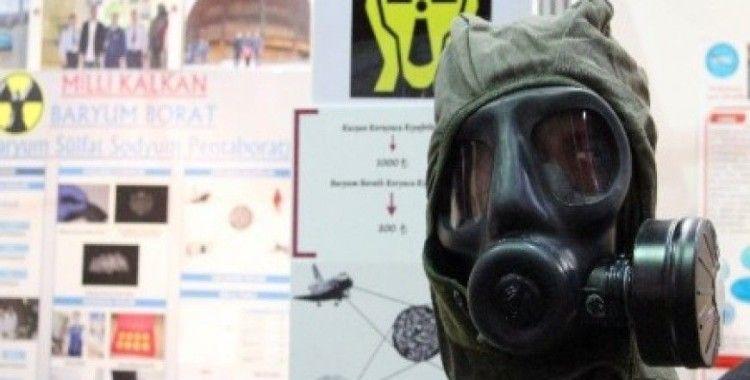 Geleceğin subayları radyasyona savaş açtı