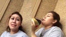 Hayatında ilk defa kola içen kızın tepkisi