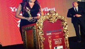 Ece Üner 'En İyi Kadın Spiker' ödülüne layık görüldü