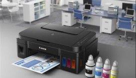 Canon'dan, tek mürekkeple 7 bin baskı yapabilen yazıcı