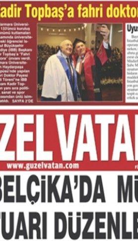 Güzel Vatan Gazetesi Sayı:82