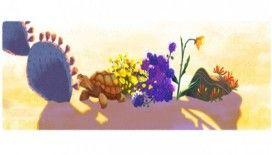 Google'dan Dünya Günü'ne özel doodle