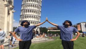 Pisa Kulesi'ni tutturamayan adam Photoshopçuların eline düştü