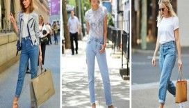 Denim pantolonlar da yeni trend