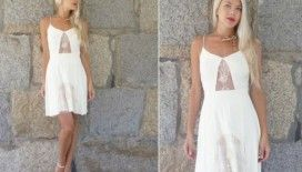 Yaz için giy çık elbise modelleri