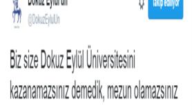 Trollükte zirveye çıkmış 'Dokuz Eylül Üniversitesi'