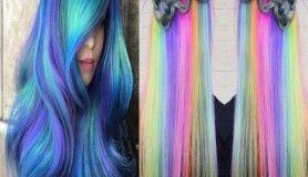 20 sıradışı saç renkleri