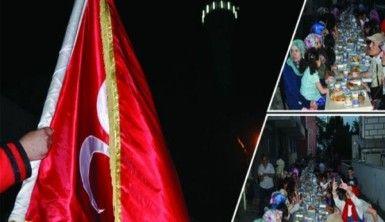 GÜN Medya'nın Çubuklu Beşevler Camii önü iftar  yemeği