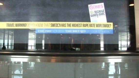 İsveçli bakana reklamlı tecavüz cevabı !