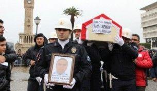 Kahraman trafik polisine hüzünlü veda