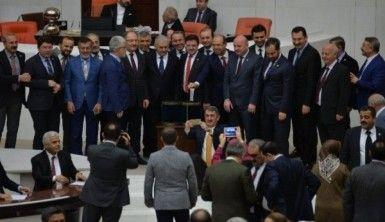 Anayasa değişikliği teklifinin 18. maddesi de kabul edildi