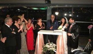 Cem Özer, Pınar Dura çifti evlendi