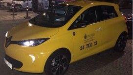 İstanbul'da elektrikli taksi dönemi artık başladı