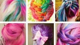 Renkli saçlarla yaza damganızı vurun!