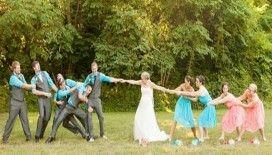 Yaz düğünlerinde trend elbiseler