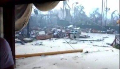 Irma kasırgası İngiliz milyarderin evini yerle bir etti