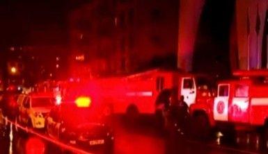 Batum'da otel yangını, 12 ölü,10 yaralı