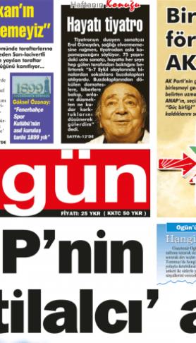 Ogün Gazetesi sayı: 21