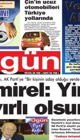 Ogün Gazetesi sayı: 18