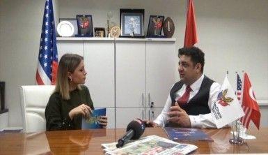 Ali Osman Akat, Türk Amerika ticari ilişkilerini OGÜNTV'ye anlattı
