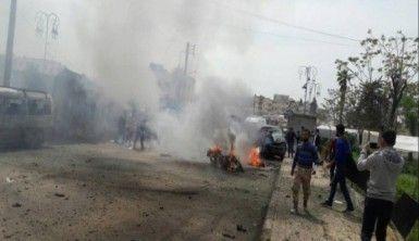 Azez'de patlama, 17 yaralı
