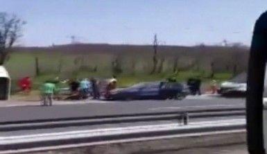 Bulgaristan'da otobüs kazası, 10 ölü
