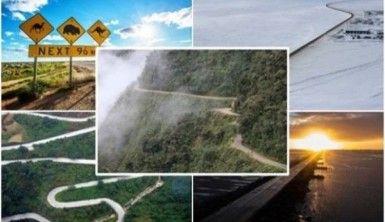 Dünyanın en tehlikeli yolları