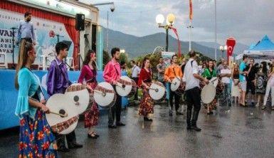 İstanbul'dan yola çıkan 'Balkan Kervanı' Makedonya'da