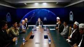 Endonezya Sufi Ulema Meclisi'nden AA'ya ziyaret