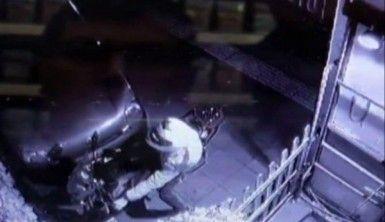 10 bin liralık motosikleti 10 saniyede çaldı