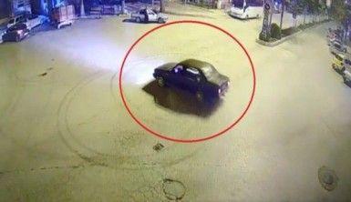 Kamera önünde drift atınca 5 bin lira ceza yedi