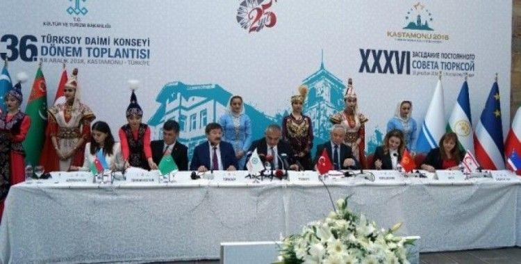 TÜRKSOY Daimi Konseyi'nin sonuç bildirgesi açıklandı