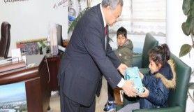 Başkan Uysal, çevreci öğrencileri ödüllendirdi