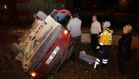 Kastamonu'da iki otomobil çarpıştı: 2 Yaralı