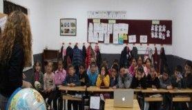 TED Ankara Koleji köy okuluna bilim götürdü
