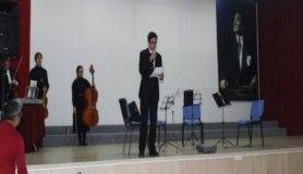 İzmir Devlet Senfoni Orkestrasından Akhisar'da söyleşi