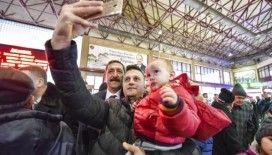 Galip Vidinlioğlu ziyaretlerini sürdürüyor