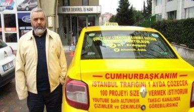 Taksici Salih'ten İstanbul trafiğine çözüm