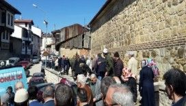 Kastamonu Belediye Başkanı Tahsin Babaş 3000 fidan dağıttı