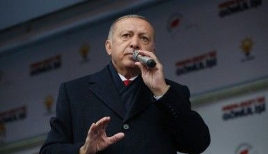 Cumhurbaşkanı Erdoğan, Buradan ilan ediyorum