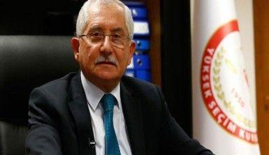 YSK Başkanı Güven'den seçim güvenliği açıklaması