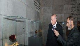 Cumhurbaşkanı Erdoğan 15 Temmuz Şehitler Müzesi'ni ziyaret etti