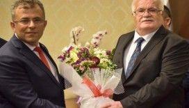 Taşköprü Belediye Başkanı seçilen Abdullah Çatal, görevi devraldı