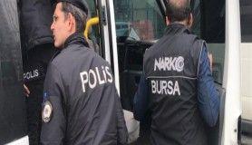 Bursa polisi uyuşturucu ticareti yapanlara göz açtırmadı