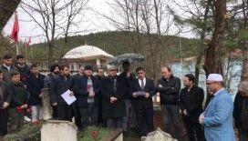 Şemsizâde Ahmed Ziyaeddin Uluoğlu vefat yıldönümünde kabri başında anıldı