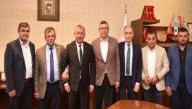 MHP İl Başkanı Aydın ve Çınar'dan Başkan Çatal'a ziyaret